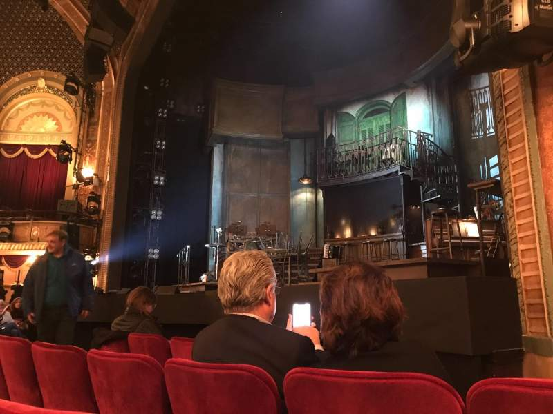 Seating view for Walter Kerr Theatre Section Orchestra R Row E Seat 14