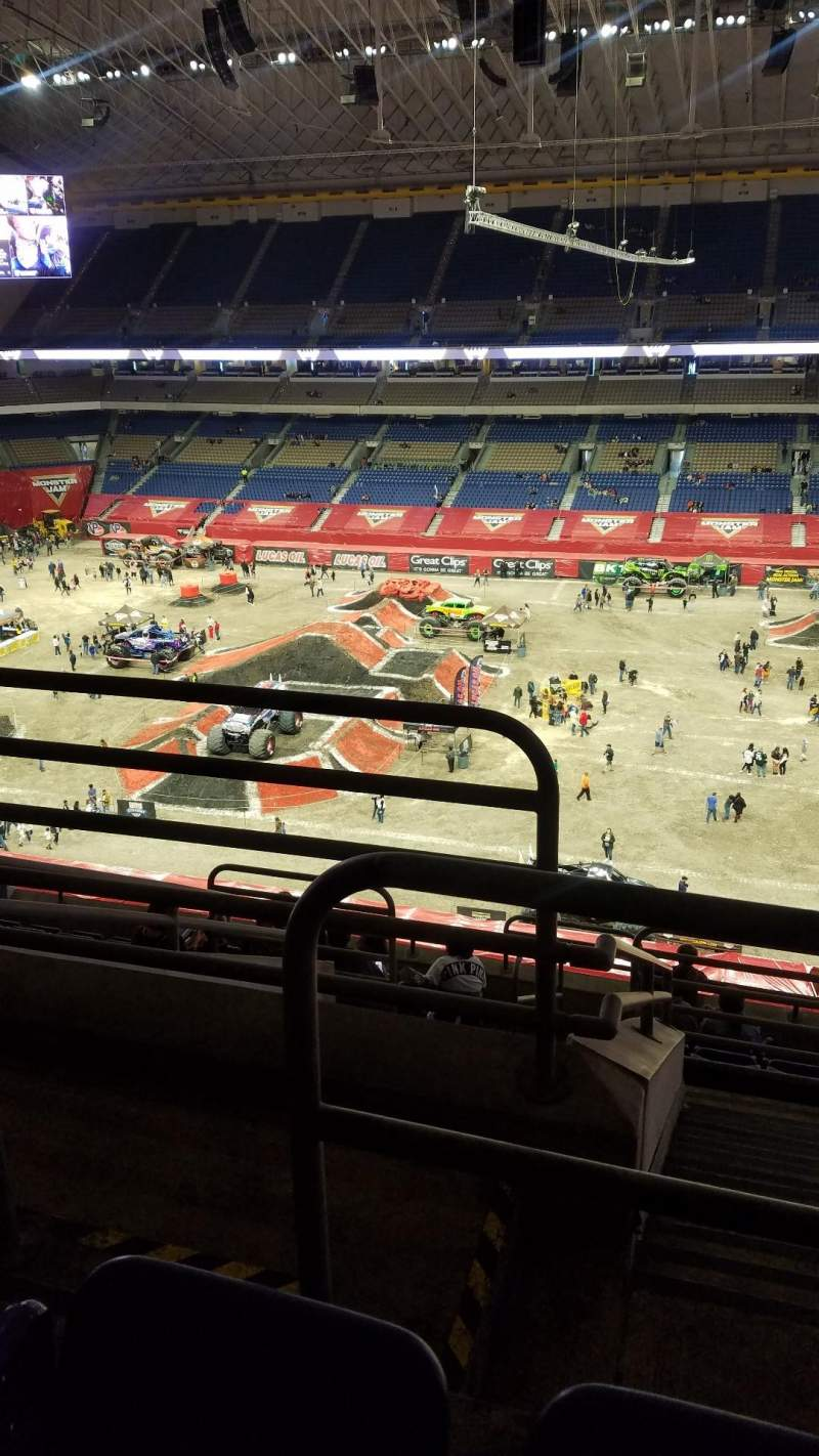 Seating view for Alamodome Section 311 Row 9 Seat 24
