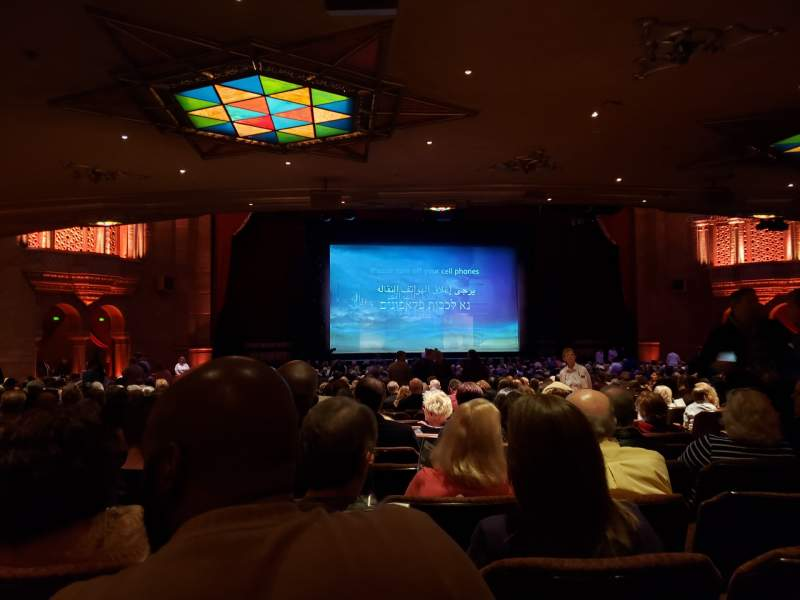 Seating view for Fox Theatre (Atlanta) Section Orchestra L Row JJ Seat 61
