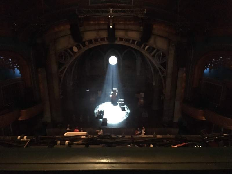 Seating view for Curran Theater Section Balcony C Row B Seat 108