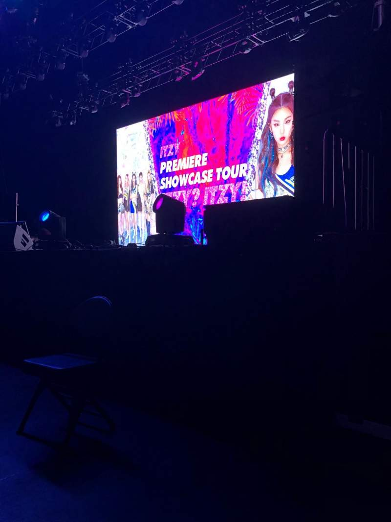 Seating view for Revention Music Center Section 101 Row A Seat 1