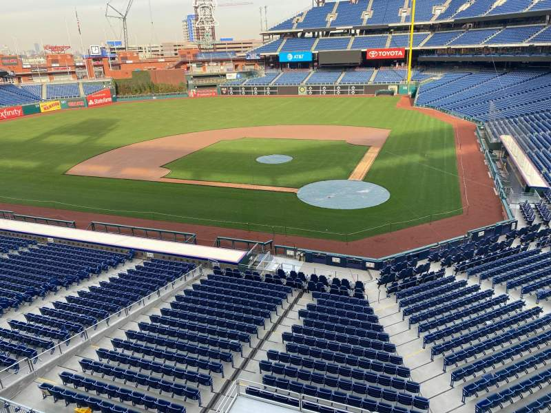 Seating view for Citizens Bank Park Section 225 Row 1 Seat 9