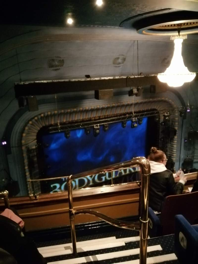 Seating view for Alex Theatre Section Grand circle Row C Seat 35
