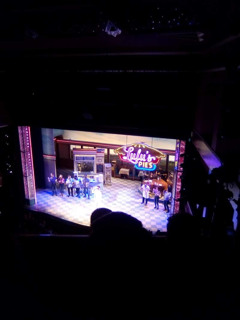 Seating view for Adelphi Theatre Section Upper circle Row C Seat 8