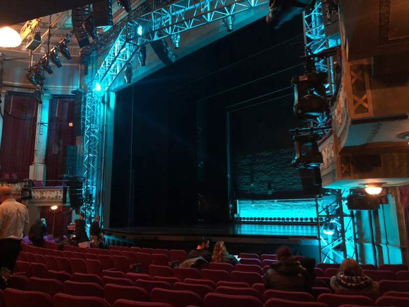 Seating view for Broadhurst Theatre Section Orchestra R Row L Seat 24