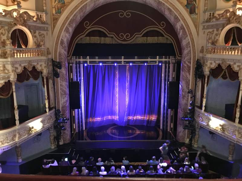 Seating view for Everyman Theatre Section Upper Row A Seat 15