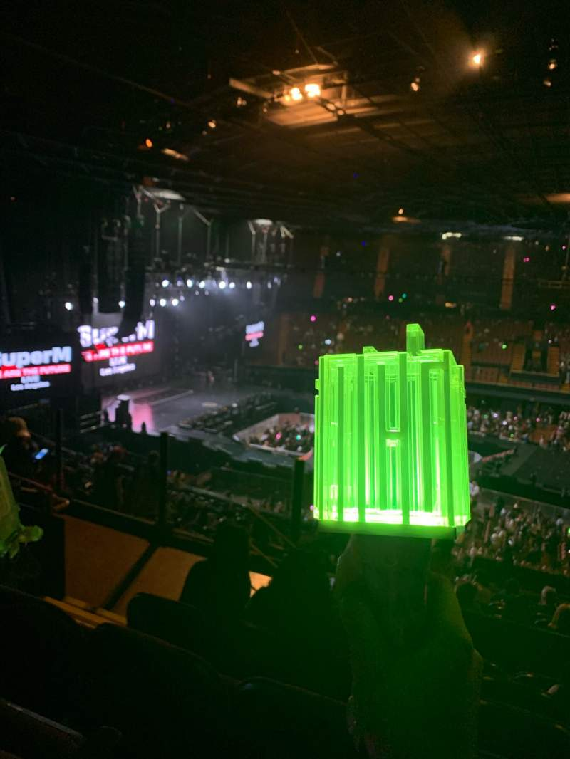 Seating view for The Forum Section 227 Row 6 Seat 4
