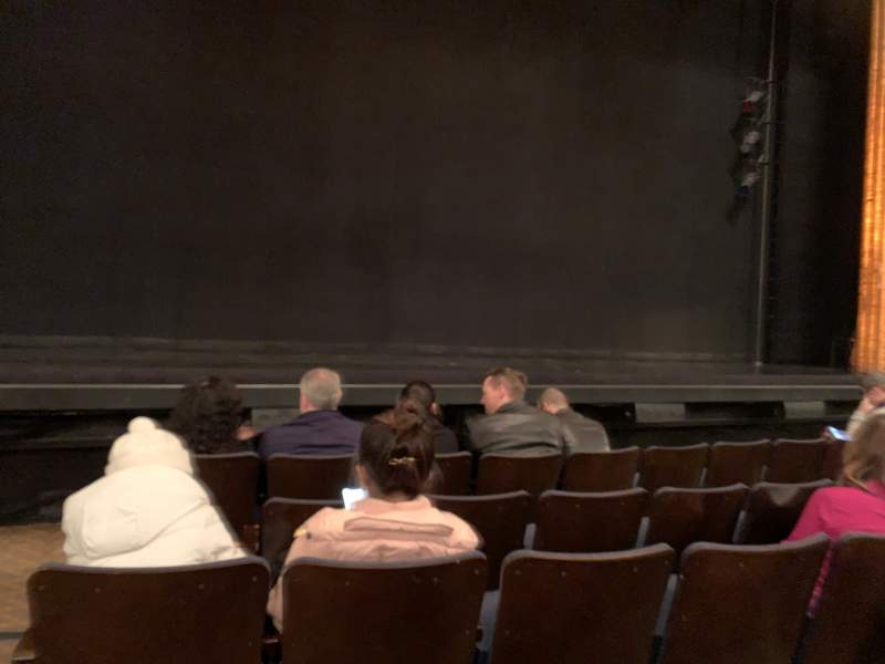 Seating view for Ambassador Theatre Section Orchestra C Row C Seat 101