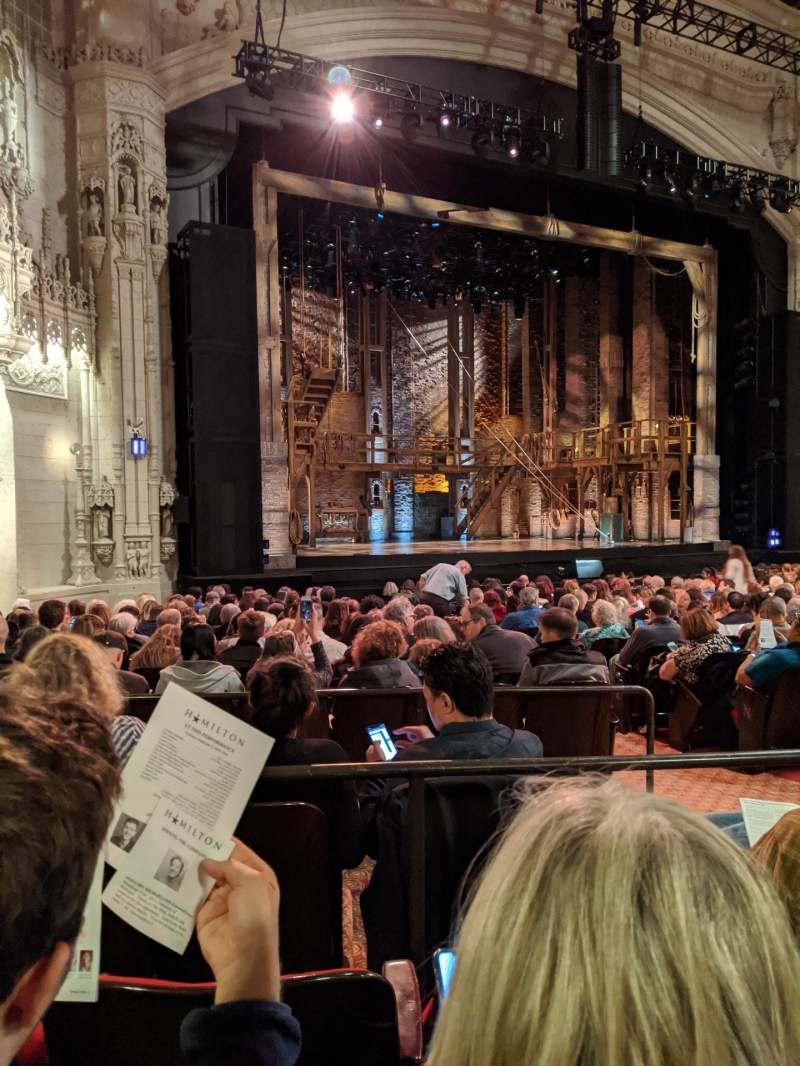 Seating view for Orpheum Theatre (San Francisco) Section Orchestra L Row V Seat 19