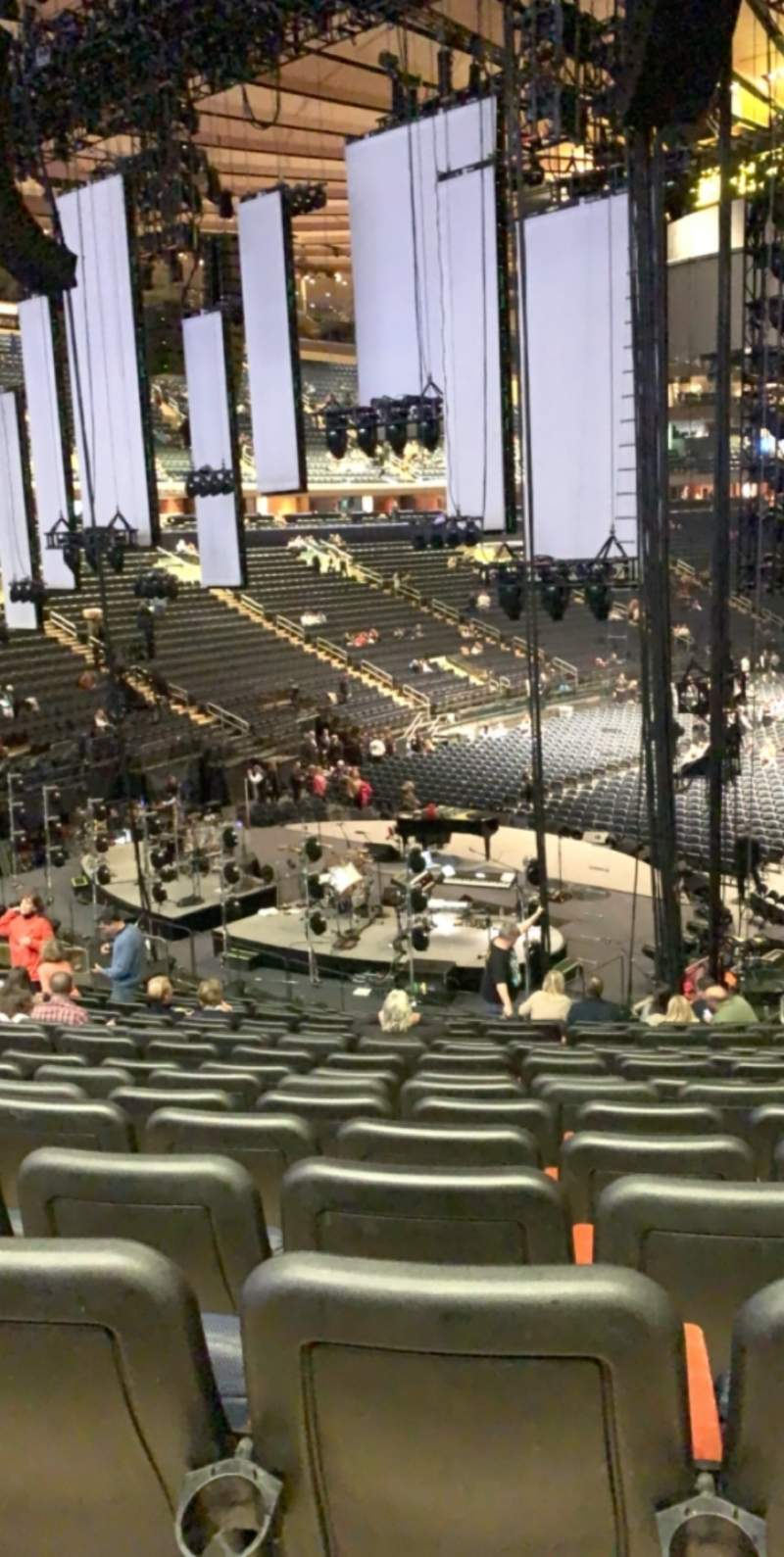 Seating view for Madison Square Garden Section 113 Row 22