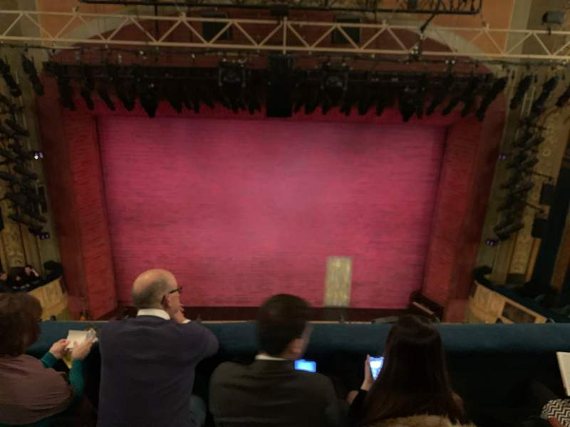 Seating view for Shubert theatre Section Balcony C Row C Seat 108
