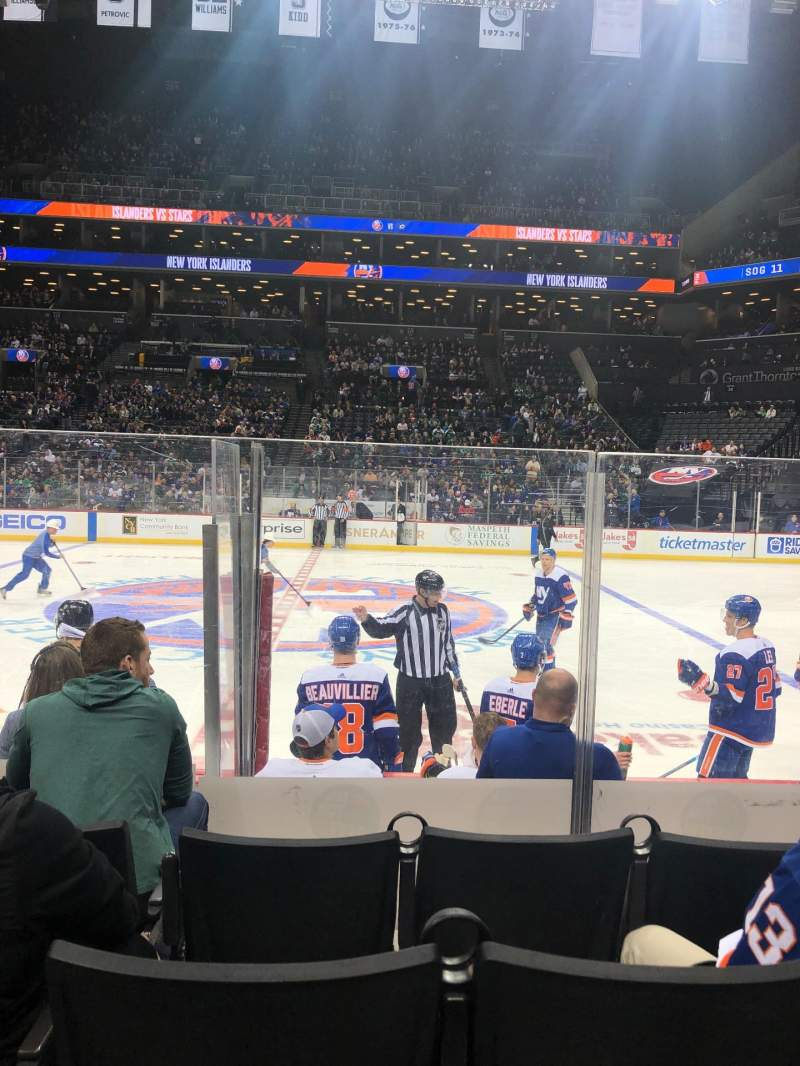 Seating view for Barclays Center Section 7 Row 6 Seat 13