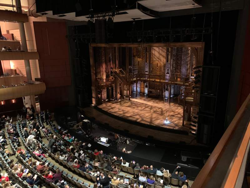Seating view for DeVos Performance Hall Section Loge Row B Seat 10