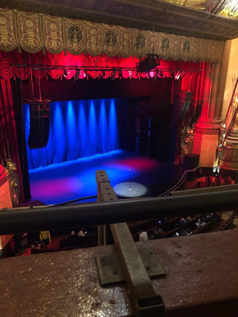Seating view for Beacon Theatre Section Lower Balcony 3 Row A Seat 37
