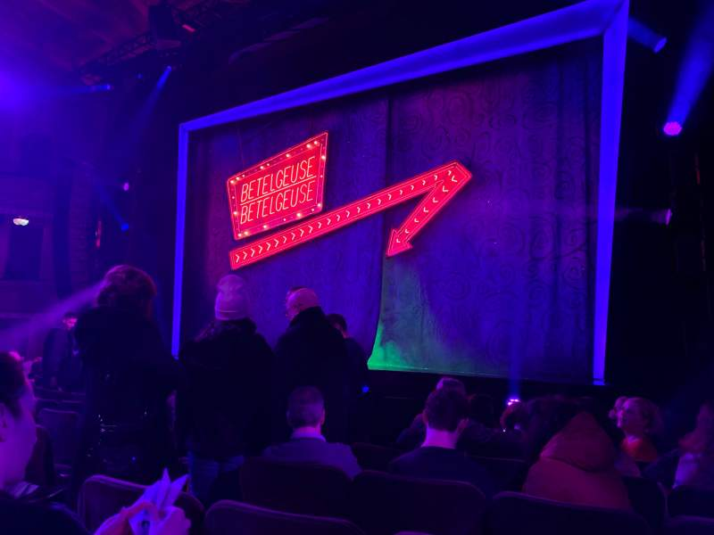 Seating view for Winter Garden Theatre Section Orchestra R Row H Seat 8