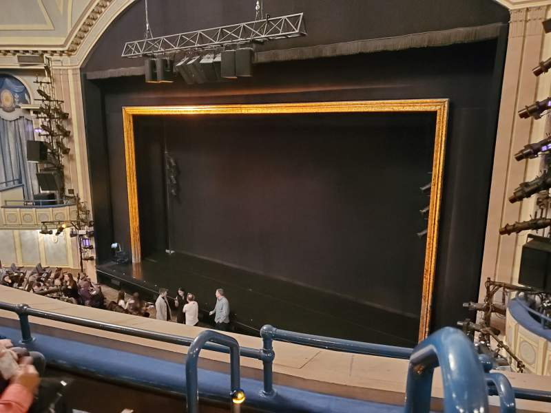 Seating view for Ambassador Theatre Section Front Mezzanine R Row C Seat 2