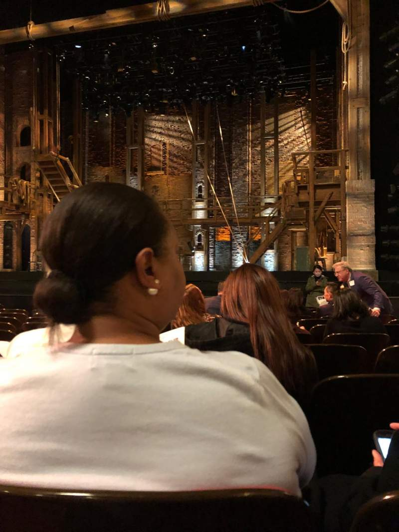 Seating view for Orpheum Theatre (San Francisco) Section Orchestra R Row L Seat 12