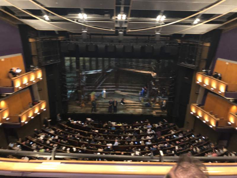 Seating view for Ahmanson Theatre Section Balcony Row B Seat 24