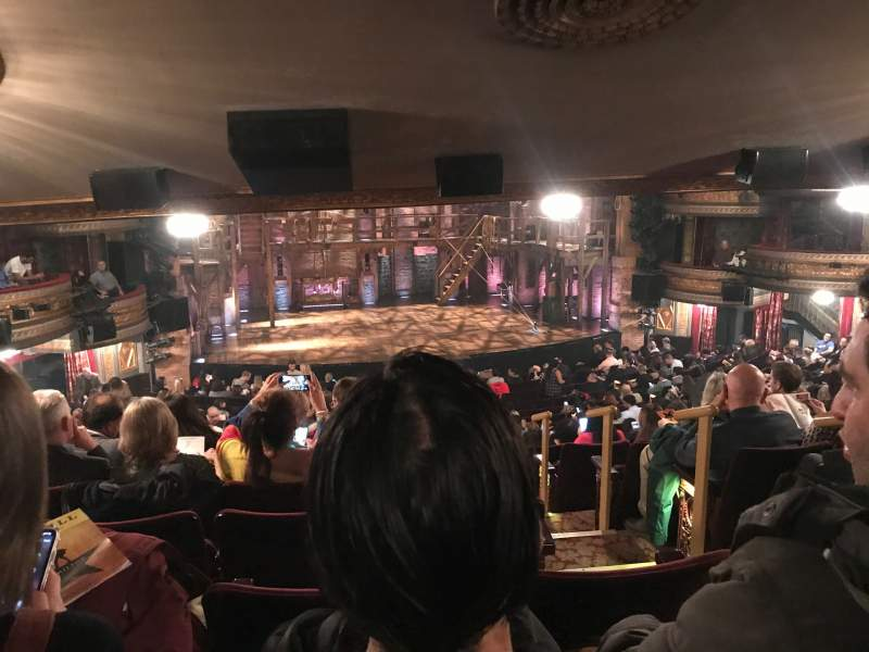 Seating view for Richard Rodgers Theatre Section Orchestra L Row W Seat 1
