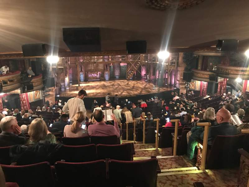 Seating view for Richard Rodgers Theatre Section Orchestra L Row W Seat 3