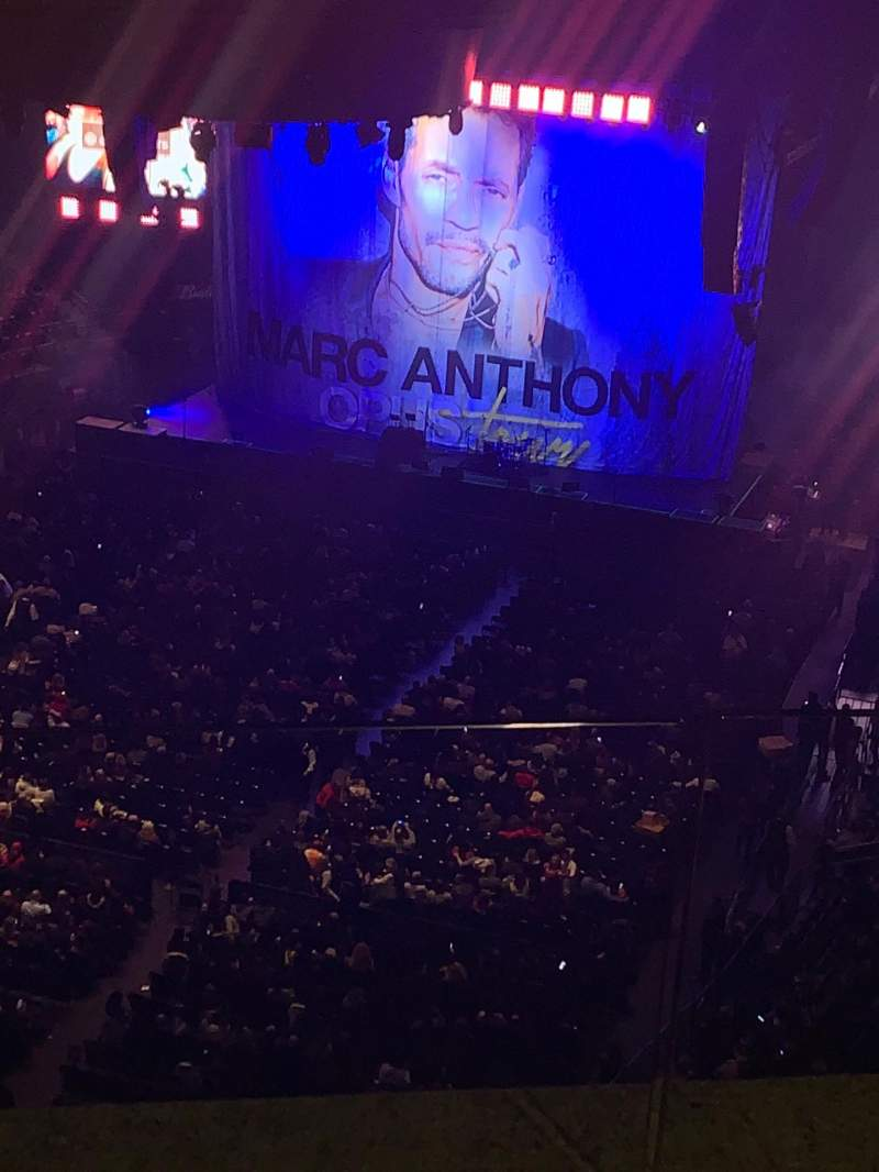Seating view for Madison Square Garden Section 308 Row Bs3 Seat 3