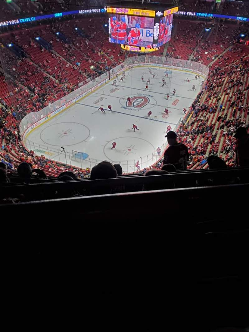 Seating view for Centre Bell Section 308 Row FF Seat 06
