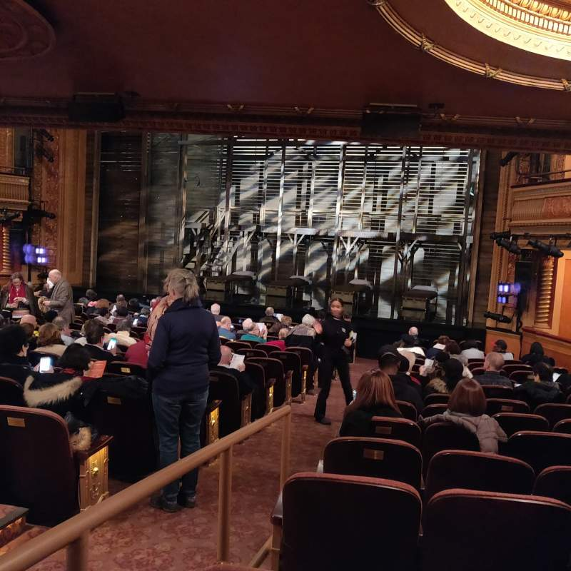 Seating view for American Airlines Theatre Section Orchestra R Row P Seat 2