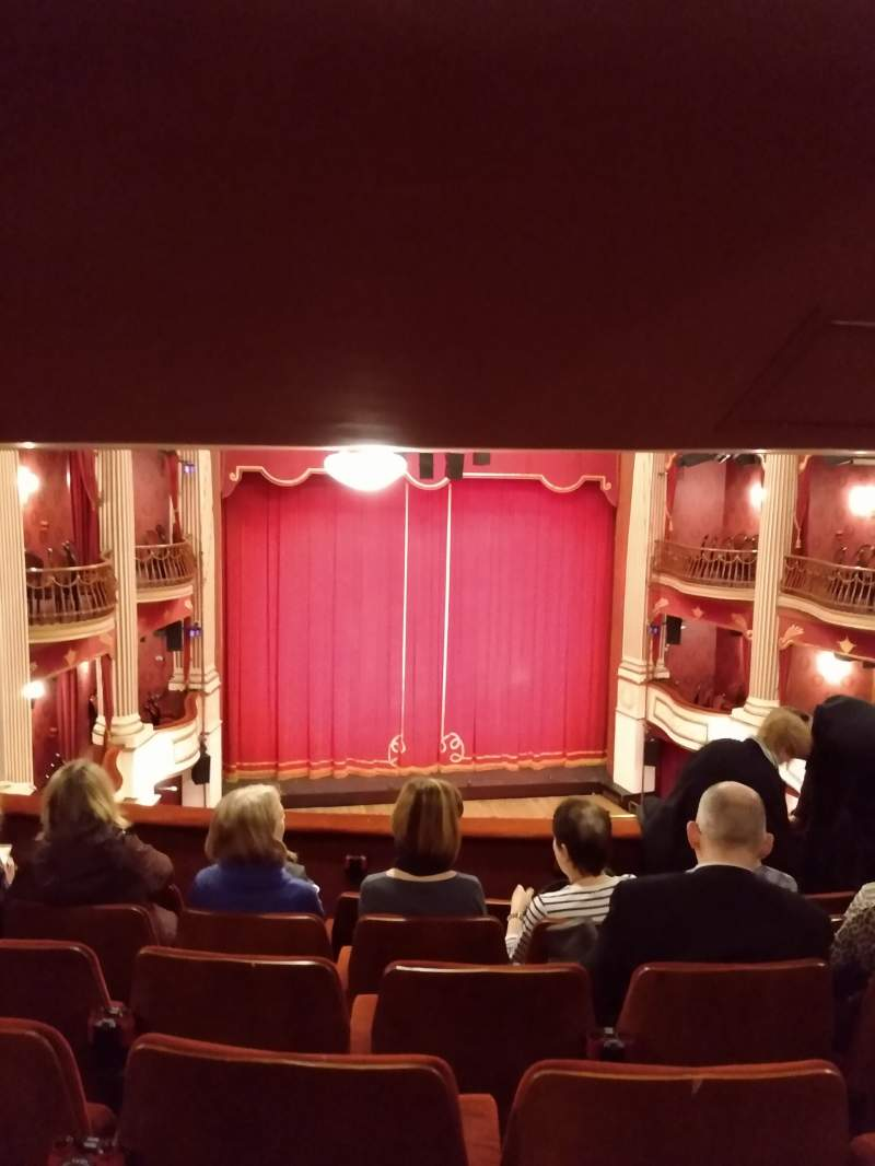 Seating view for New Theatre (Cardiff) Section Circle Row M Seat 14
