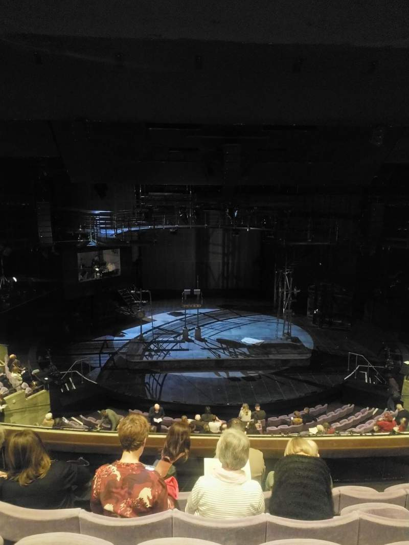 Seating view for The Olivier Theatre at the National Theatre Section Circle Row E Seat 46