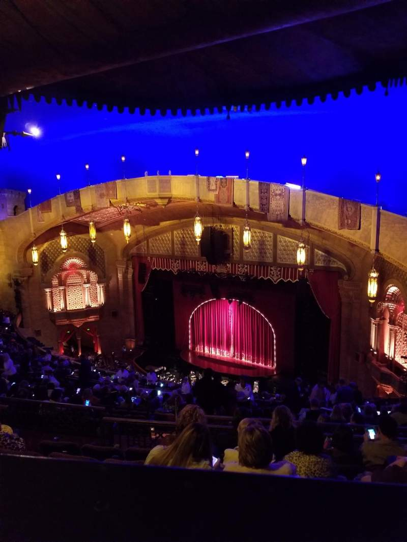 Seating view for Fox Theatre (Atlanta) Section Gallery Right C Row R Seat 48
