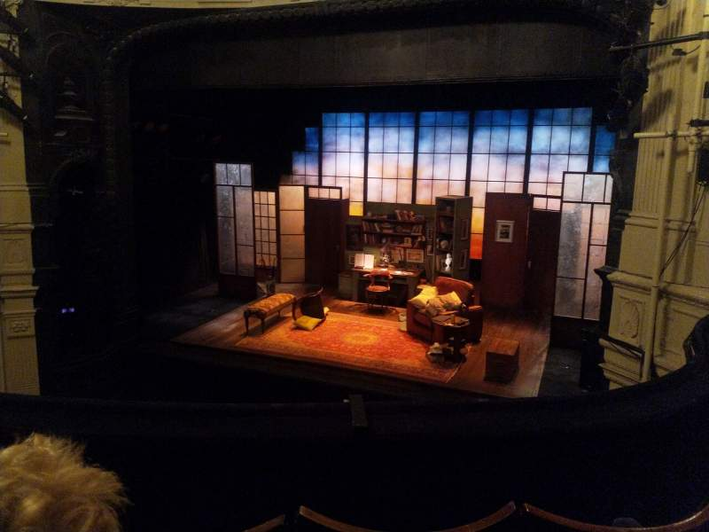 Seating view for Ambassadors Theatre Section Circle Row C Seat 4