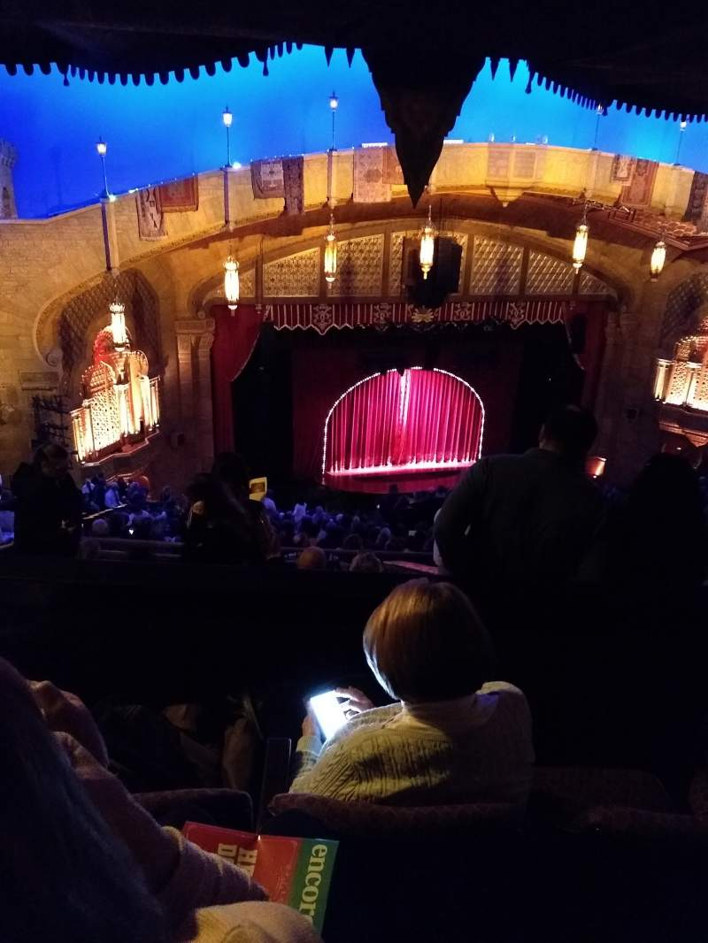 Seating view for Fox Theatre (Atlanta) Section Gallery Left B Row T Seat 25