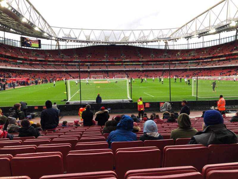Seating view for Emirates Stadium Section 26 Row 15 Seat 795