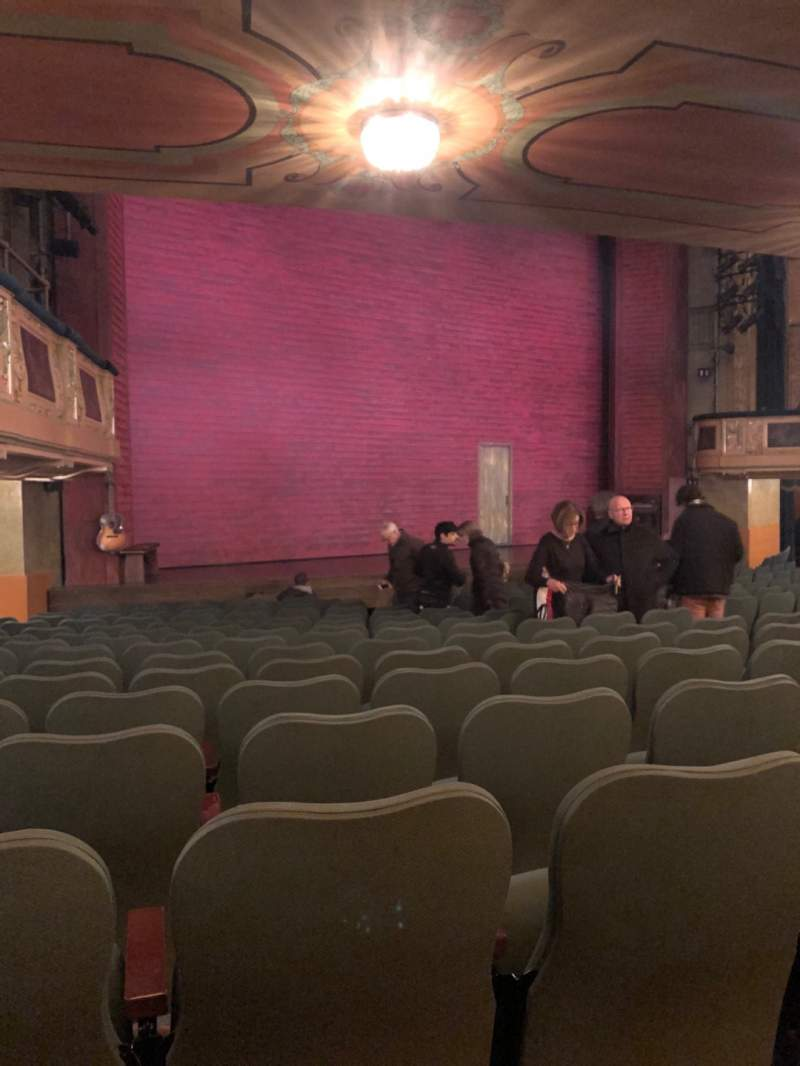 Seating view for Shubert Theatre Section Orchestra L Row Q Seat 23