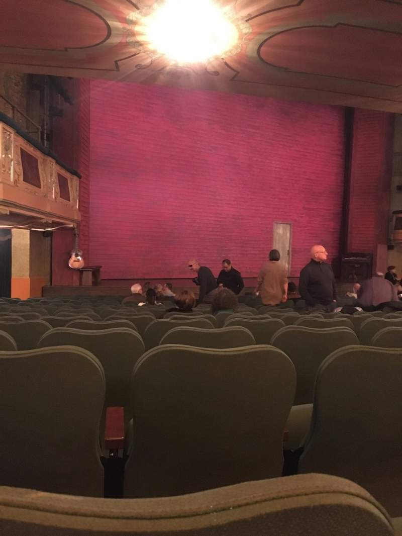 Seating view for Shubert Theatre Section Orchestra L Row Q Seat 21