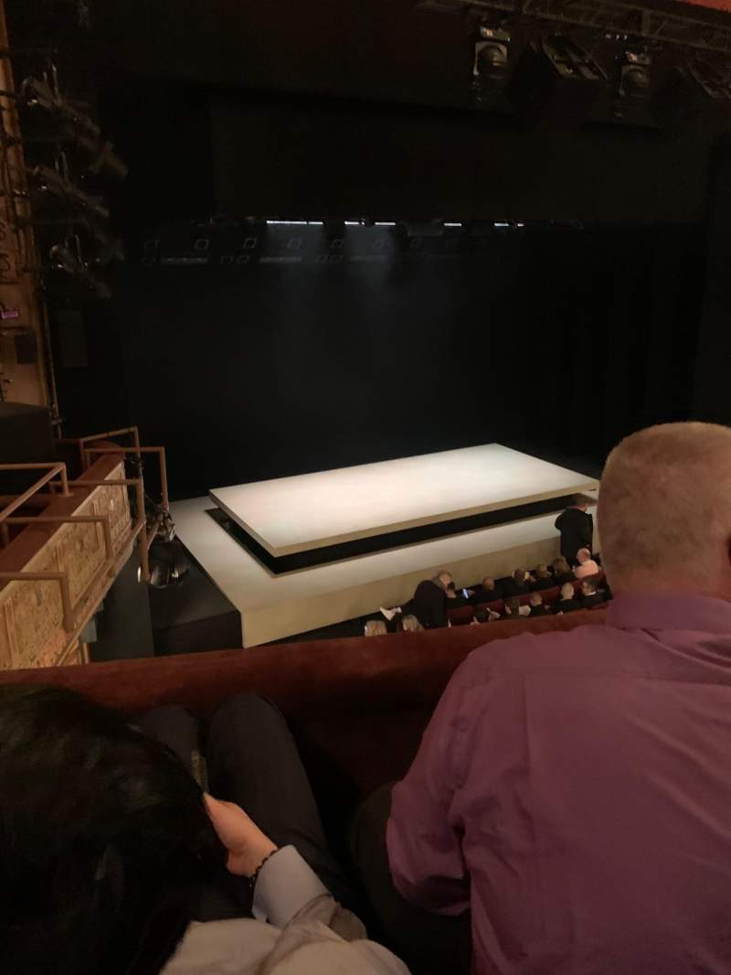 Seating view for Ethel Barrymore Theatre Section Rear Mezzanine L Row B Seat 13