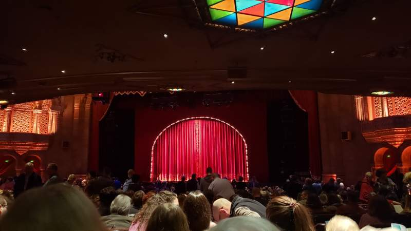 Seating view for Fox Theatre (Atlanta) Section Orchestra C Row FF Seat 64