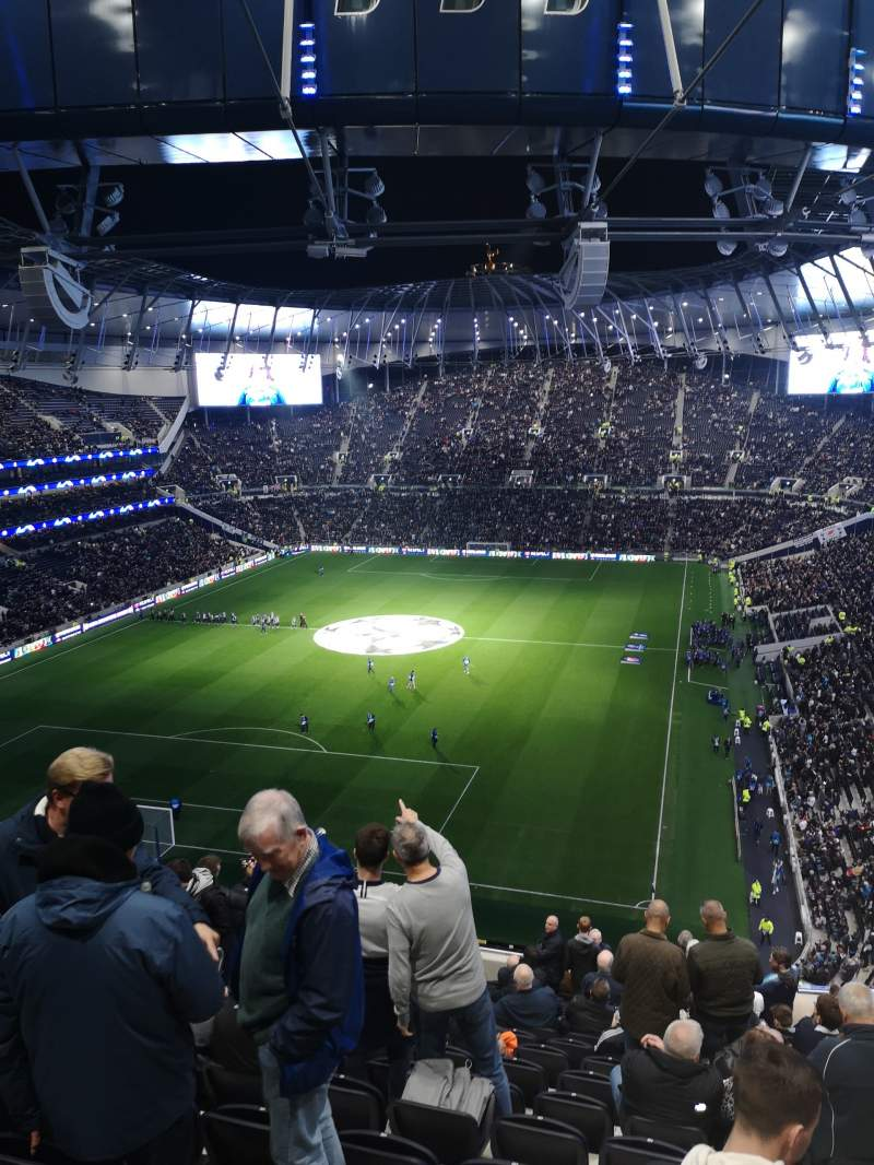 Seating view for Tottenham Hotspur Stadium Section 513 Row 17 Seat 429