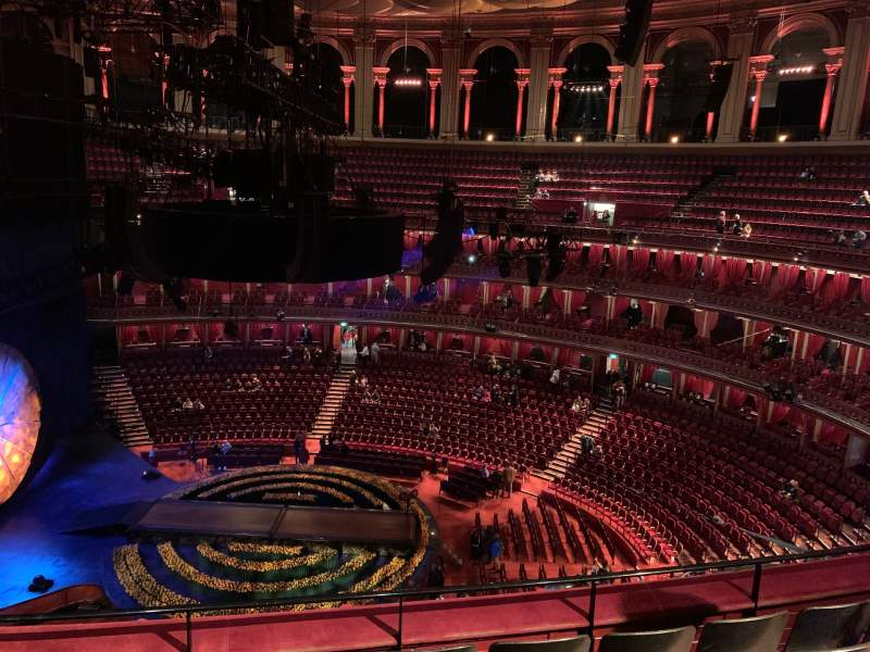 Seating view for Royal Albert Hall Section Rausing Circle R Row 4 Seat 47