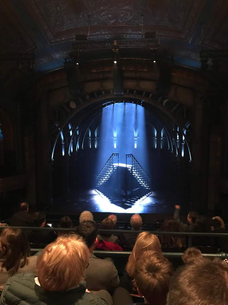 Seating view for Curran Theater Section Mezzanine Row D Seat 110