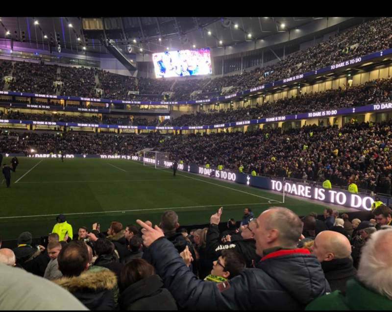 Seating view for Tottenham Hotspur Stadium Section 118 Row 11
