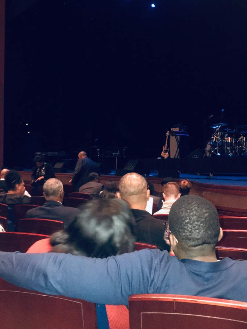 Seating view for Walt Disney Theatre - Dr. Phillips Center Section Lower Orchestra R Row F Seat 20