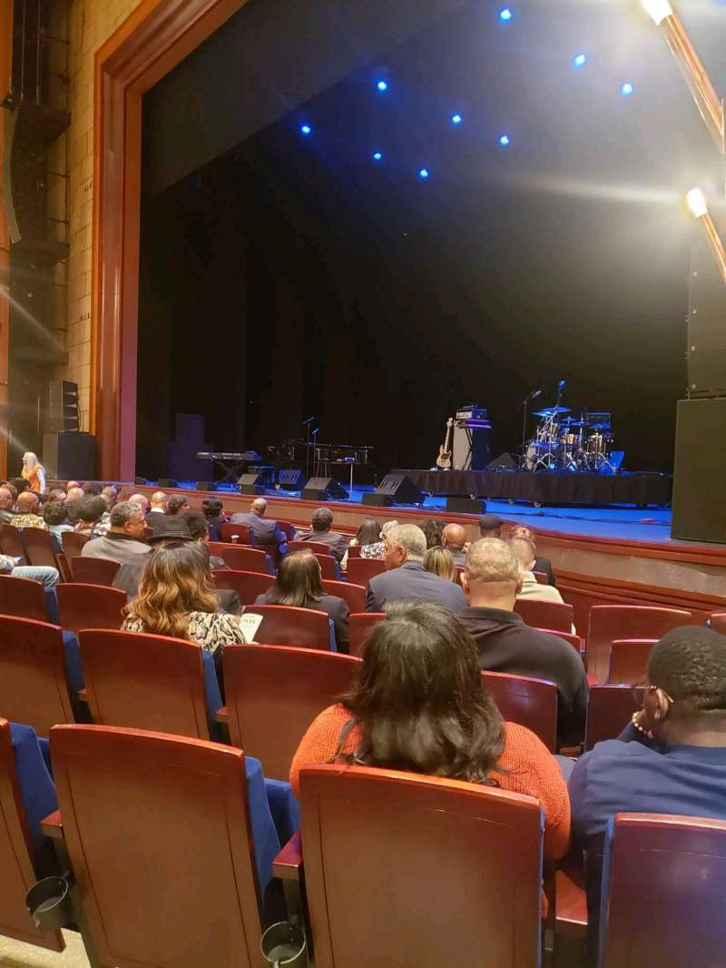 Seating view for Walt Disney Theatre - Dr. Phillips Center Section Lower Orchestra R Row F Seat 22