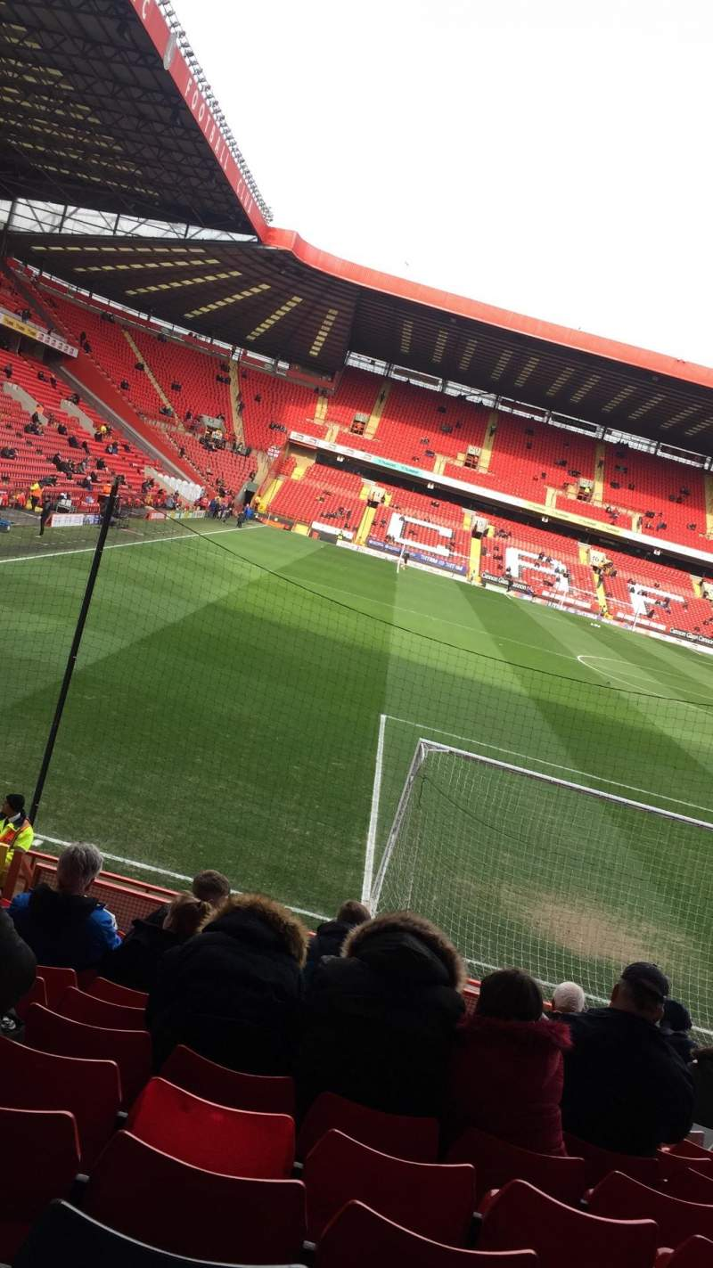 Seating view for The valley Section G Row N Seat 115