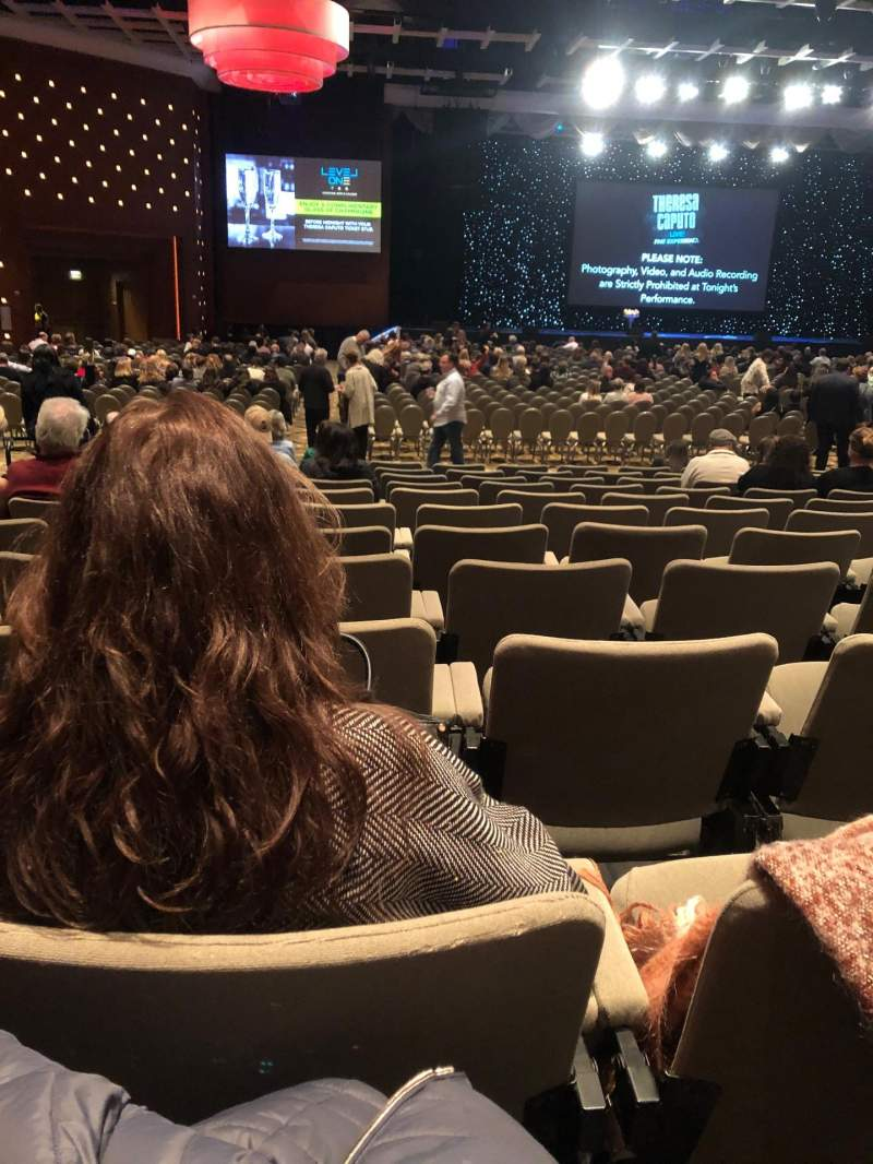 Seating view for Borgata Event Center Section B Row M Seat 4
