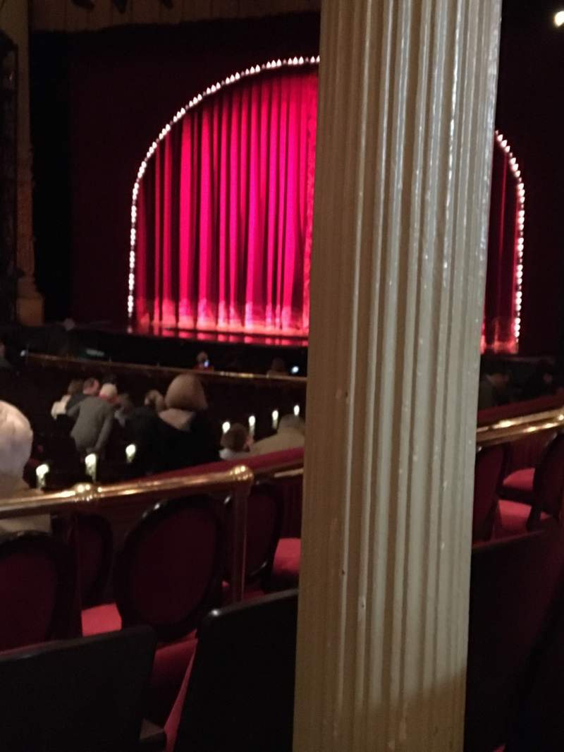 Seating view for Academy of Music Section Parquet Circle C Row V Seat 24