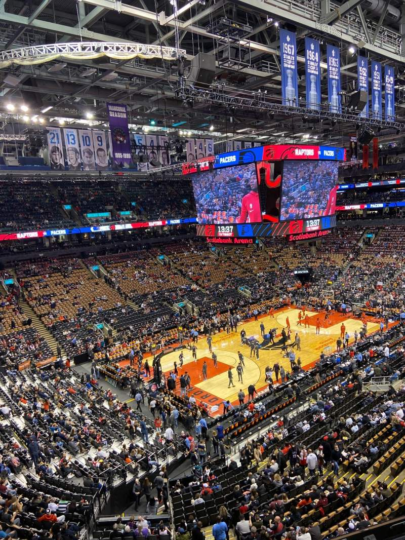 Seating view for Scotiabank Arena Section 324 Row 3 Seat 11