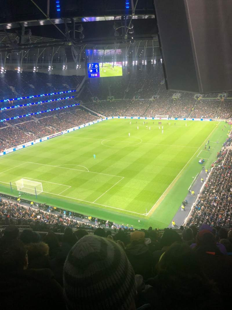 Seating view for Tottenham Hotspur Stadium Section 511 Row 18