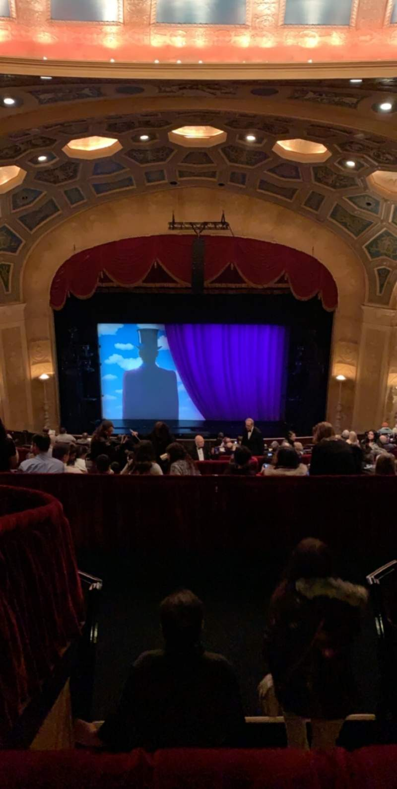 Seating view for Detroit Opera House Section Balcony 2 Row N Seat 307