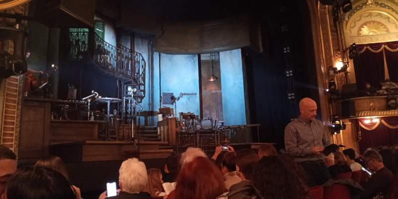 Seating view for Walter Kerr Theatre Section Orchestra L Row G Seat 13